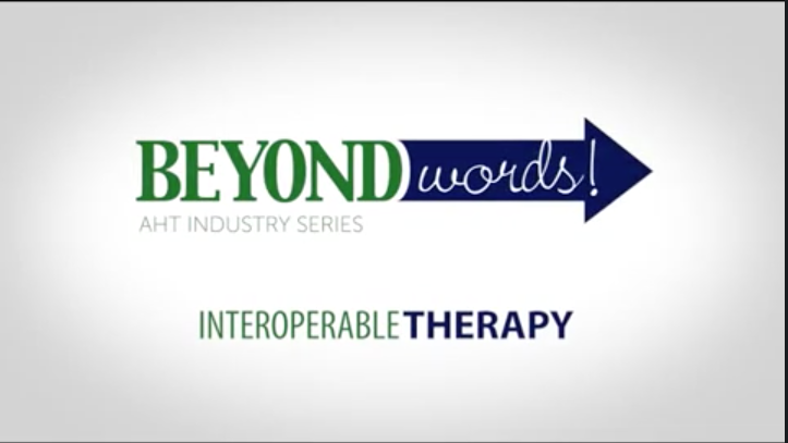 Beyond Words: Interoperable Therapy